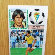 Cromos de Fútbol: ESTE LIGA 83 /84.. MEJÍAS I... CÁDIZ.. VERSION MEYBA.. RECUPERADO. Lote 156568665