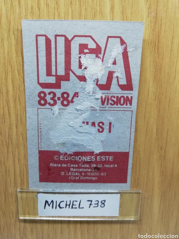 Cromos de Fútbol: Este liga 83 /84.. Mejías I... Cádiz.. Version Meyba.. Recuperado - Foto 2 - 156568665