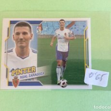 Cromos de Fútbol: LIGA ESTE - 2010-2011 - REAL ZARAGOZA - PINTER - ÚLTIMOS FICHAJES -Nº 46. Lote 156572382