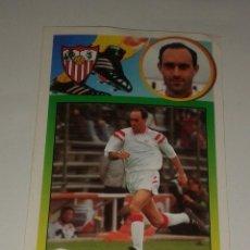 Cromos de Fútbol: CROMO ADHESIVO RAFA PAZ SEVILLA 93 94 EDICIONES ESTE . Lote 156716814