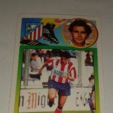 Cromos de Fútbol: CROMO ADHESIVO QUEVEDO ATLETICO DE MADRID 93 94 EDICIONES ESTE. Lote 156717030