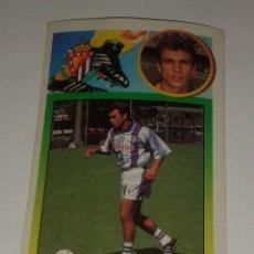 Cromos de Fútbol: CROMO ADHESIVO CUARESMA REAL VALLADOLID 93 94 EDICIONES ESTE. Lote 156717134