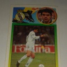 Cromos de Fútbol: CROMO ADHESIVO SANCHIS REAL MADRID 93 94 EDICIONES ESTE. Lote 156717402