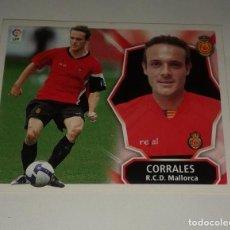 Cromos de Fútbol: CROMO CORRALES MALLORCA LIGA 08 09 COLOCA. Lote 156782878