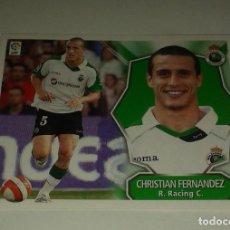Cromos de Fútbol: CROMO CHRISTIAN FERNANDEZ RACING LIGA 08 09 COLOCA. Lote 156782954