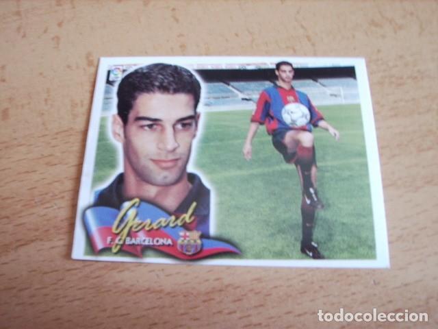 ESTE 00-01 COLOCA GERARD BARCELONA VENTANILLA (Coleccionismo Deportivo - Álbumes y Cromos de Deportes - Cromos de Fútbol)