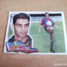 Cromos de Fútbol: ESTE 00-01 COLOCA GERARD BARCELONA VENTANILLA. Lote 156837066