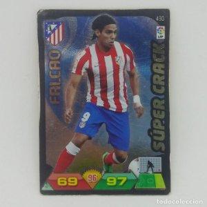 430 Falcao. Súper crack. Atlético de Madrid. Adrenalyn 2011 2012 Panini Liga BBVA 11 12