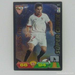 443 Jesús Navas. Súper crack. Sevilla. Adrenalyn 2011 2012 Panini Liga BBVA 11 12