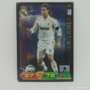 437 Sergio Ramos. Súper crack. Real Madrid. Adrenalyn 2011 2012 Panini Liga BBVA 11 12