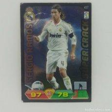 Cromos de Fútbol: 437 SERGIO RAMOS. SÚPER CRACK. REAL MADRID. ADRENALYN 2011 2012 PANINI LIGA BBVA 11 12. Lote 156854686