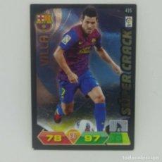 Cromos de Fútbol: 435 VILLA. SÚPER CRACK. F.C. BARCELONA. ADRENALYN 2011 2012 PANINI LIGA BBVA 11 12. Lote 156854762