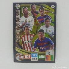 Cromos de Fútbol: 458 CARD INVENCIBE. MESSI, RONALDO, BUSQUETS... ADRENALYN 2015 2016 PANINI LIGA BBVA 15 16. Lote 156857862