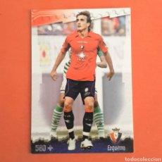 Cromos de Futebol: (C-19) MUNDICROMO FICHAS LIGA 2008-2009 - (OSASUNA) N°580+ EZQUERRO. Lote 156857990