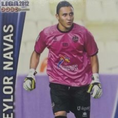 Cromos de Fútbol: 356 KEYLOR NAVAS. LEVANTE. LIGA BBVA 2012. OFFICIAL QUIZ GAME COLLECTION 2011 2012 MUNDICROMO 11 12. Lote 156868818