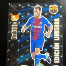 Cromos de Fútbol: ADRENALYN XL 2017 2018 PANINI LIGA 17 18 RAKITIC EDICION LIMITADA FC BARCELONA. Lote 156909538