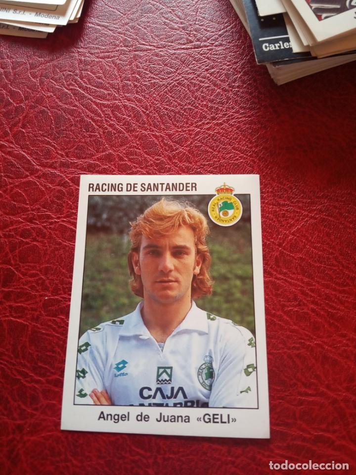 GELI RACING SANTANDER 93 94 ED PANINI LIGA 1993 1994 FUTBOL CROMO - SIN PEGAR - 221 (Coleccionismo Deportivo - Álbumes y Cromos de Deportes - Cromos de Fútbol)