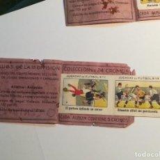 Cromos de Fútbol: 5 CROMOS DEL ATLETICO AVIACIÒN DE LA COLECCIÒN ALBUM FUTBOLISTICO, AÑOS 30.. Lote 157134282