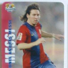 Cromos de Fútbol: 730 MESSI: VERSIÓN MATE - MUNDICROMO 2007. Lote 157134506