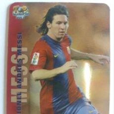 Cromos de Fútbol: 730 MESSI: VERSIÓN BRILLANTE LISO - MUNDICROMO 2007. Lote 157134698