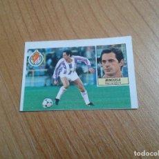 Cromos de Fútbol: MINGUELA -- VALLADOLID -- 84/85 -- RECUPERADO. Lote 157216462
