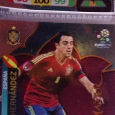 Cromos de Fútbol: ADRENALYN XL EURO 2012. PANINI. XAVI HERNÁNDEZ. TOP MASTER. Lote 157357842