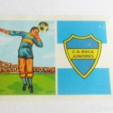 Figurine di Calcio: 377 CLUB ATLETICO BOCA JUNIOR CAMPEONATO NACIONAL DE LIGA 1973 RUIZ ROMERO SIN PEGAR IMPECABLE. Lote 157805210