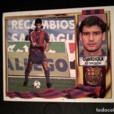 Cromos de Fútbol: GUARDIOLA BARCELONA 95 96 1995 1996 ESTE . Lote 157866078