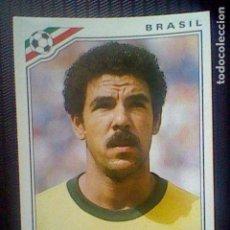 Figurine di Calcio: MEXICO 86 PANINI MUNDIAL 1986 CROMO SIN PEGAR NUNCA BRAZIL BRASIL Nº 248 CEREZO *. Lote 157968538