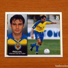 Cromos de Fútbol: VILLARREAL - PASCUAL - EDICIONES ESTE 1998-1999, 98-99 - NUNCA PEGADO. Lote 158021896