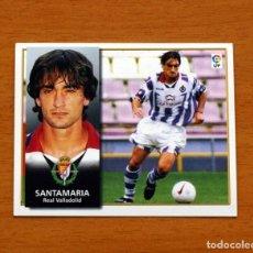 Cromos de Fútbol: VALLADOLID - SANTAMARIA - EDICIONES ESTE 1998-1999, 98-99 - NUNCA PEGADO. Lote 158022305