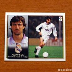 Cromos de Fútbol: REAL MADRID - AMAVISCA - EDICIONES ESTE 1998-1999, 98-99 - NUNCA PEGADO. Lote 158026280