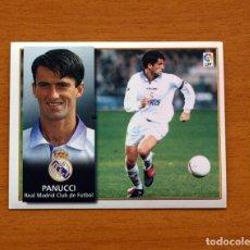 Cromos de Fútbol: REAL MADRID - PANUCCI - EDICIONES ESTE 1998-1999, 98-99 - NUNCA PEGADO. Lote 158027288
