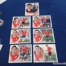 Cromos de Fútbol: LOTE 7 CROMOS LIGA ESTE 2012 -13 ( C.AT. OSASUNA )COLOCA 14 Y 16 BIS -Nº 9, 6, 10, 12B ENTRENADOR . Lote 158156418
