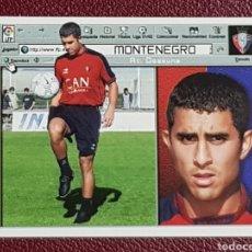 Cromos de Fútbol: ESTE 2001-2002 FICHAJE 26 MONTENEGRO OSASUNA CROMO NUNCA PEGADO 01-02. Lote 158367858