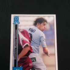 Cromos de Fútbol: Nº 898 KEKO (POLIDEPORTIVO EJIDO) - CROMO FUTBOL PLATINUM FICHAS LIGA 2005-2006 MUNDICROMO 05-06. Lote 158398666