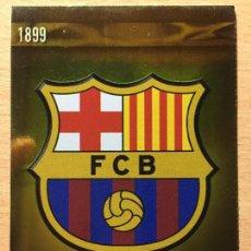 Cromos de Fútbol: 2009-2010 - 1 ESCUDO (BRILLO LISO) - FC BARCELONA - MUNDICROMO. Lote 158453646