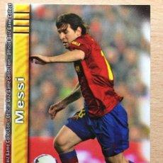 Cromos de Fútbol: 2009-2010 - 18 MESSI - FC BARCELONA - MUNDICROMO. Lote 158457562