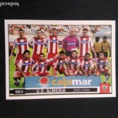 Cromos de Fútbol: Nº 901 ÍNDICE CHECKLIST, ALINEACIÓN ALMERÍA - CROMO PLATINUM FICHAS LIGA 2005-2006 MUNDICROMO 05-06. Lote 158541658