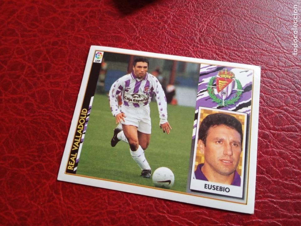 EUSEBIO VALLADOLID ED ESTE 97 98 CROMO FUTBOL LIGA 1997 1998 - SIN PEGAR - 733 FICHAJE 7 (Coleccionismo Deportivo - Álbumes y Cromos de Deportes - Cromos de Fútbol)