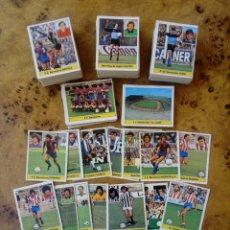 Cromos de Fútbol: LOTE DE 252 CROMOS DIFERENTES TEMPORADA 81-82 ESTE. RECUPERADOS, CON 22 FICHAJES. Lote 158793534