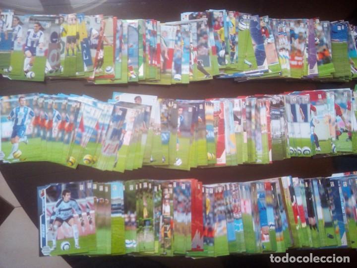 LOTE DE UNOS 500 CROMOS MEGA CRACKS 2005 - 2006 (Coleccionismo Deportivo - Álbumes y Cromos de Deportes - Cromos de Fútbol)