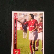 Cromos de Fútbol: Nº 879 DIEGO ALONSO (REAL MURCIA) - CROMO FÚTBOL PLATINUM FICHAS LIGA 2005-2006 MUNDICROMO 05-06. Lote 158878326