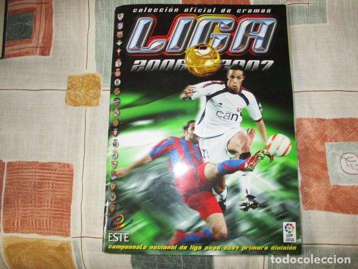 ALBUM LIGA 2006-07 ESTE (Coleccionismo Deportivo - Álbumes y Cromos de Deportes - Cromos de Fútbol)