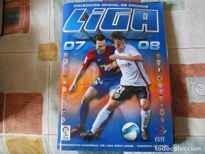 ALBUM LIGA 2007-08 ESTE COMPLETO (Coleccionismo Deportivo - Álbumes y Cromos de Deportes - Cromos de Fútbol)