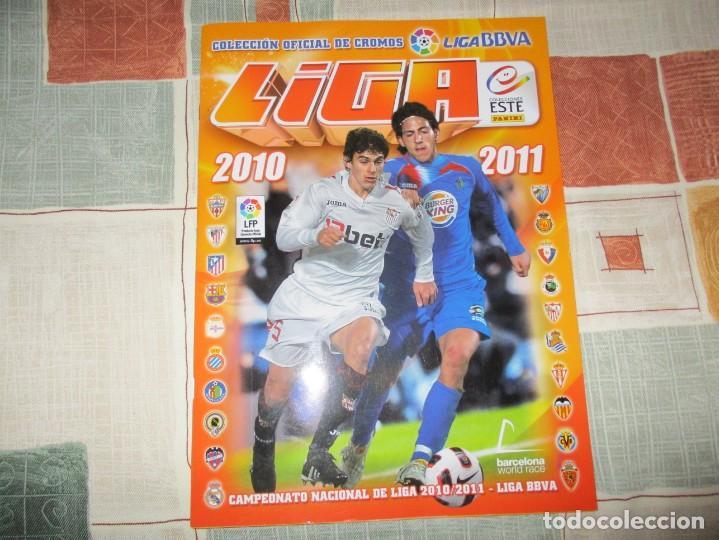 ALBUM LIGA 2010-11 ESTE VACIO A ESTRENAR (Coleccionismo Deportivo - Álbumes y Cromos de Deportes - Cromos de Fútbol)
