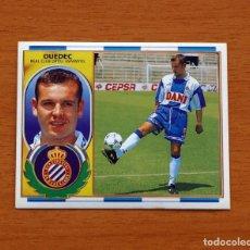 Cromos de Fútbol: R.C.D. ESPAÑOL, ESPANYOL - OUEDEC - EDICIONES ESTE 1996-1997, 96-97 - NUNCA PEGADO. Lote 159013422