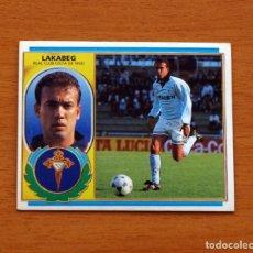 Cromos de Fútbol: CELTA DE VIGO - LAKABEG - EDICIONES ESTE 1996-1997, 96-97 - NUNCA PEGADO. Lote 159015357