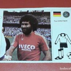 Cromos de Fútbol: PAUL BREITNER - N° 5 ESTRELLAS MUNDIAL 82 ESPAÑA - BRUGUERA - 1982 - GERMANY BAYERN. Lote 159300038