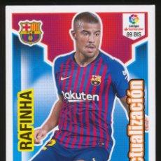 Cromos de Fútbol: #69 BIS. RAFINHA (ACTUALIZACION) - FC BARCELONA 2018/2019 - ADRENALYN LIGA CARD/CROMO 18/19. Lote 159343874